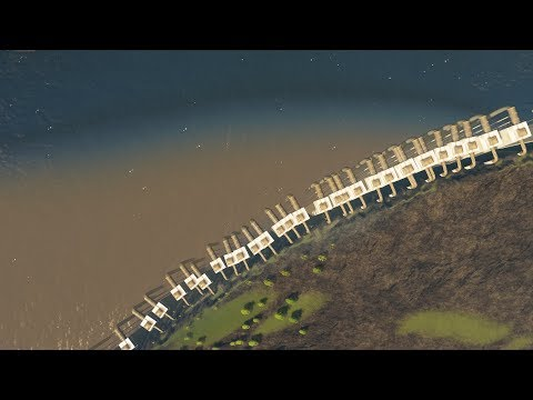 When City Planning in Cities Skylines accidentally causes the Plague |