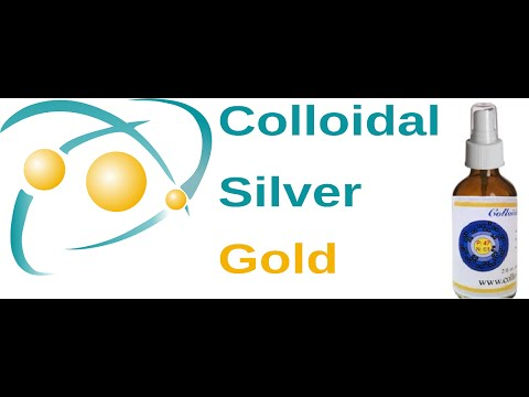 Why Choose Colloidal Silver Gold? For YOUR health!