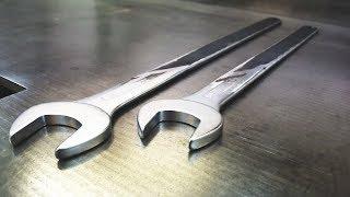 Schraubenschlüssel EXTRA LANG verlängern | Kreissäge Flansch Schlüssel