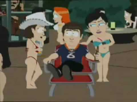 Jay Cutler QB of Chicago Bears on South Park