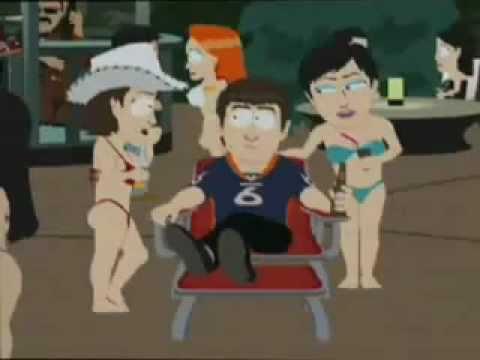 Jay Cutler QB of Chicago Bears on South Park