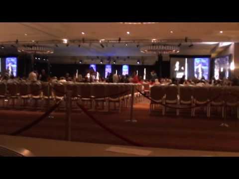 DNC 2016 - Day 4 - California Delegates breakfast - video clips