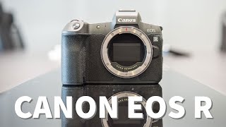 Trên tay Canon EOS R