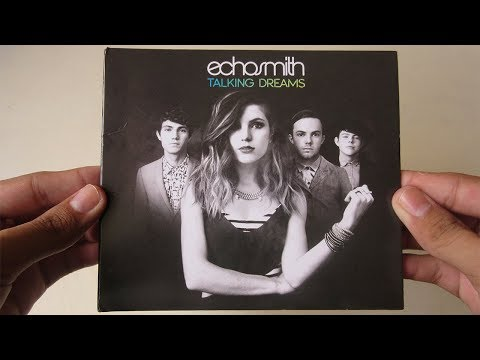 Echosmith - Talking Dreams - Unboxing CD...