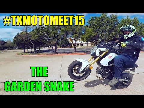 Txmotomeet15 The Garden Snake Youtube