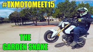 #TXMOTOMEET15 | The Garden Snake