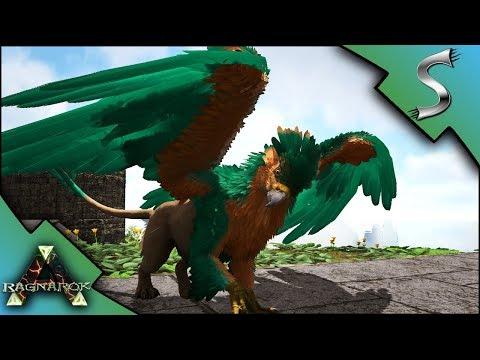GRIFFIN BREEDING! BABY GRIFFINS AND MUTATED GRIFFIN! - Ark: RAGNAROK [DLC Gameplay E60]