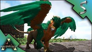 GRIFFIN BREEDING BABY GRIFFINS AND MUTATED GRIFFIN Ark RAGNAROK DLC Gameplay E60