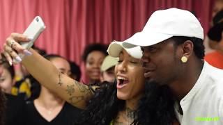 Kranium Surprises Dancers At NY Dance Studio