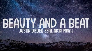 Download lagu Justin Bieber ft. Nicki Minaj - Beauty And A Beat (Lyrics-Letra)