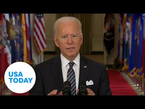 Biden addresses nation on COVID-19 anniversary