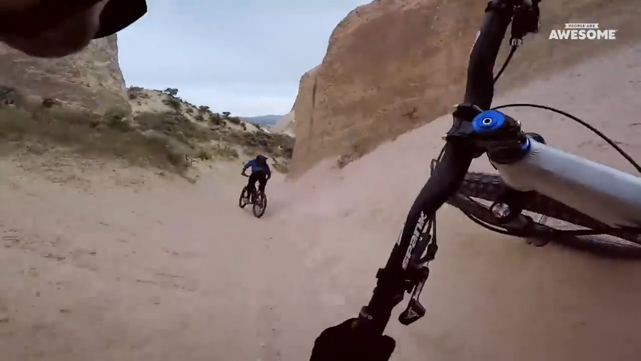 242cb9f8 Downhill Mountain Bike POV Speed Runs | People Are Awesome - YouTube