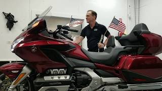 2018 2019 Honda GoldWing - Trunk Backspacing Kit!!!