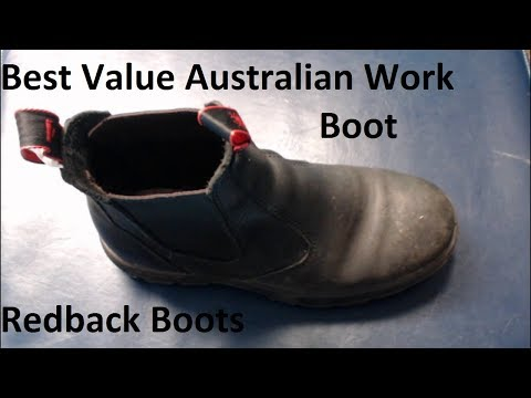 Redback Boots: The Best Value Australian Work Boot (At The Time)