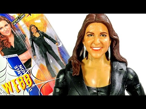 WWE Basic Series 51 STEPHANIE McMAHON Action Figure Review thumbnail