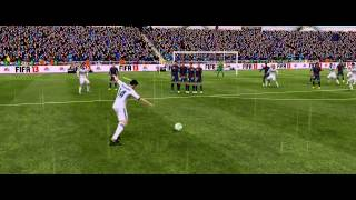 FIFA 13: Xabi Alonso - amazing free kick against Barcelona