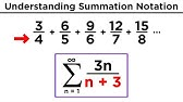 4 2 Summation Formulas and Sigma Notation - YouTube