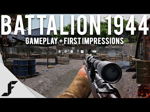 BATTALION 1944 - Gameplay and First Impressions
