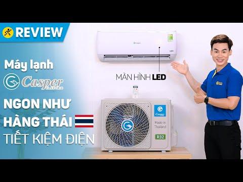 Máy lạnh Casper Inverter 1HP: máy lạnh Thailand, làm lạnh nhanh, giá rẻ (GC-09TL32) • Điện máy XANH