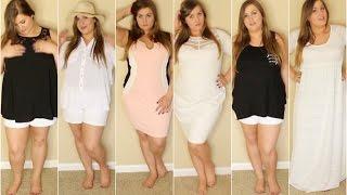 SUMMER CLOTHING HAUL 2016 | Plus Size | Fashion To Figure