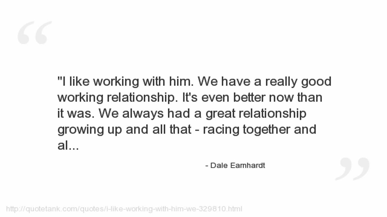 Really Good Quotes Dale Earnhardt Quotes  Youtube