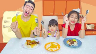 Evening Routine Song Lyrics for Kid Nora Family Show