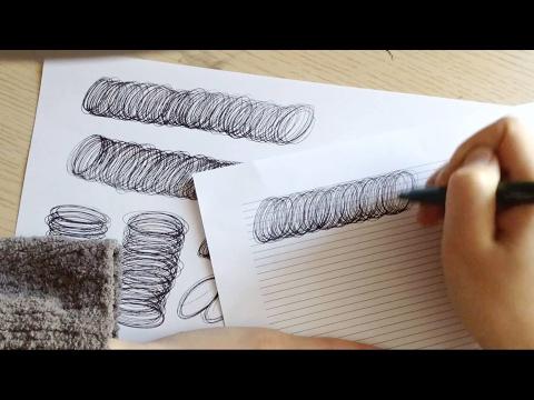 видео: Каллиграфическое упражнение ручкой.