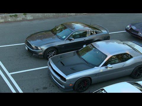 The best drag races of modern muscle cars ZL1 vs Hellcat vs Shelby vs Boss 302 vs Mustang GT