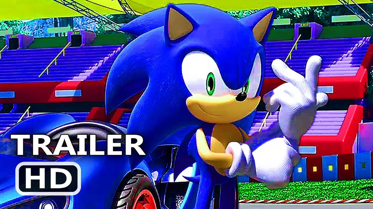 PS4 - Team Sonic Racing Trailer (2019)
