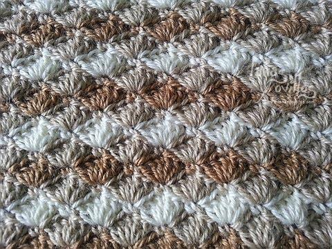 Tutorial Punto Concha Crochet O Ganchillo Shell Stitch
