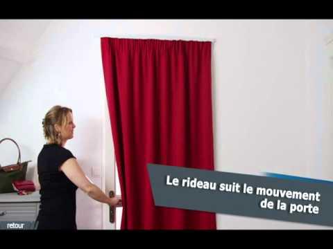 ridorail ib tringle pour habiller votre porte avec un rideau a galon