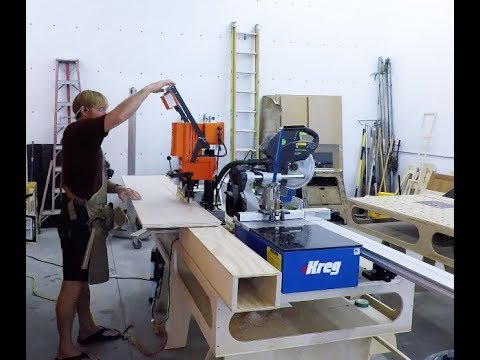 Building my woodshop #18: Nose cabinet.