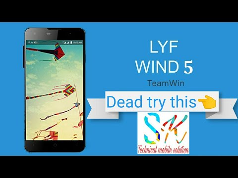 Lyf Wind 5 solution dead solutions check  display new
