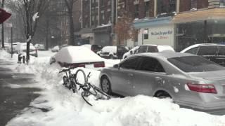 Winter Storm Juno 2016|Heavy snow|New York City| HD High Quality