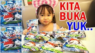 Opening Surprise Toys 💖 Jenica dapat banyak koleksi mainan Super Wings nya...... Asik!!!
