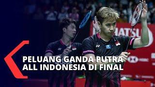Peluang All Indonesia Final Partai Ganda Putra di Indonesia Masters 2020