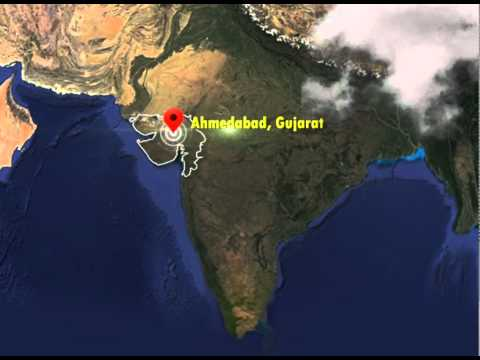 Gujarat Map Animation
