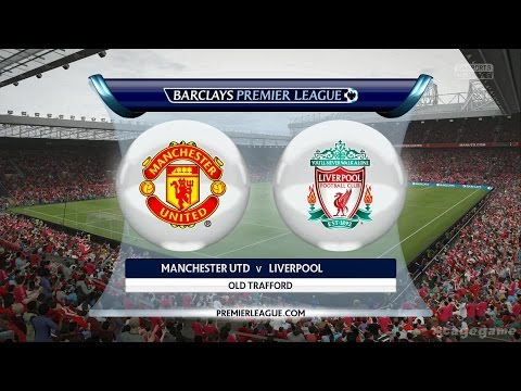 FIFA 16 Gameplay - Manchester United VS Liverpool - Full Game [ HD ]