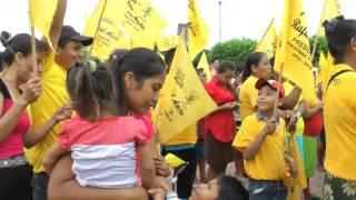 Cierre de campaña en el Poblado Ignacio Gutiérrez Gómez