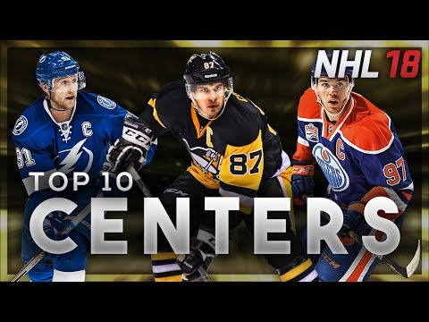 NHL 18 Ratings Predictions Top 10 Centers