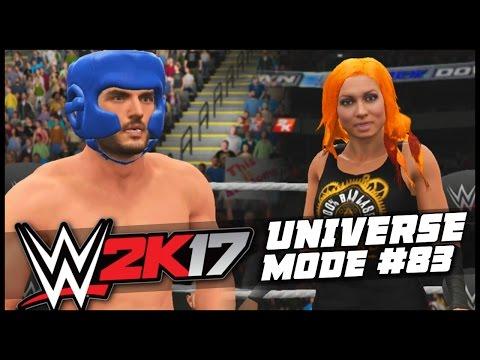 WWE 2K17   Universe Mode - 'BECKY'S BACK!'   #83