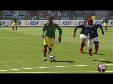 [FR] France - Cameroun - PES 2016 - Full Manual - Superstar
