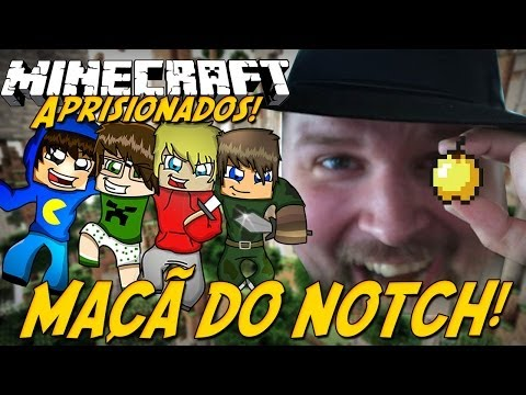 Minecraft: Aprisionados - MAÇÃ DO NOTCH! #5