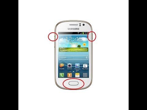 Samsung Galaxy Fame GT-S6810M Como Formatear/Hard Reset/Restaurar Código De Pantalla Belester