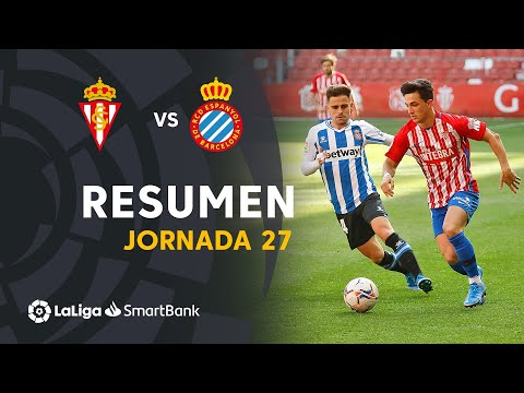 Gijon Espanyol Goals And Highlights