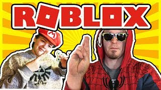 Roblox Livestream - with my Nephew Sam (Sam Does Games) - He's MLG!