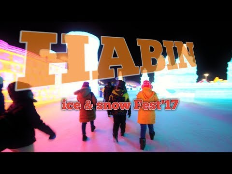 First trip to Harbin   day 3  Ice & snow festival 2017