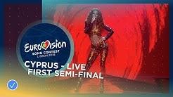 Eleni Foureira - Fuego - Cyprus - LIVE - First Semi-Final - Eurovision 2018