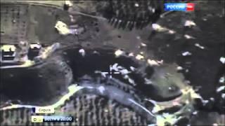 Видео   первые кадры бомбардировки Россией позиций ИГИЛ 30 09 15 Новости Сирии сегодня