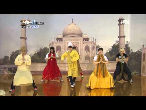 [HD] Super Junior - India dance